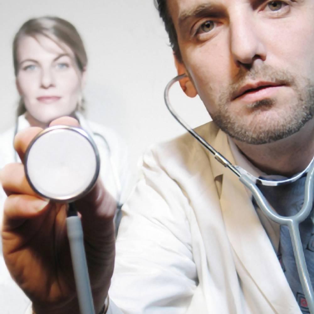 Dokter met stethoscoop